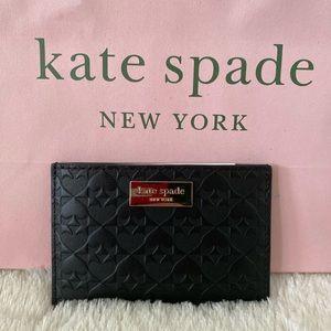 NWT- Brand New Black Kate Spade Credit Card Wallet